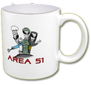 Area 51 coffee mug